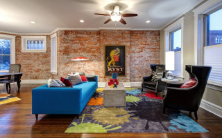 Nejlepší interiéry obývacího pokoje v moderním stylu od slavných designérů | Green-Pages.info