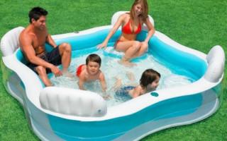 Jak správně nainstalovat a nafukovat nafukovací bazén v zemi vlastními rukama | Green-Pages.info