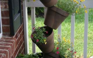 Vertikální květinové záhony a květinové záhony — nápady pro vertikální zahradnictví letní chaty | Green-Pages.info