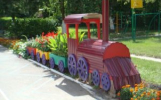 Originální květinová zahrada Motor pro zahradu a chalupu: nápady na fotografický design | Green-Pages.info