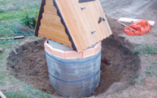 Správnou izolaci studny na zimu vlastníma rukama | Green-Pages.info