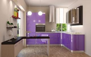 Které fasády si můžete vybrat v kuchyni: z plastu nebo MDF s filmem | Green-Pages.info