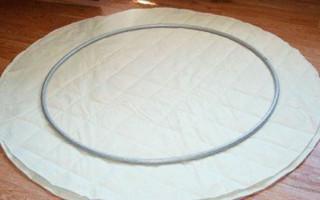 Jak vyrobit houpací křeslo z obruče | Green-Pages.info