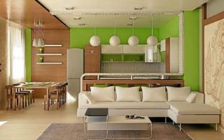 Barový pult, jako stylová technika pro zónování místnosti