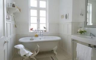 Provensálská koupelna: jednoduchost a romantismus francouzského venkova | Green-Pages.info