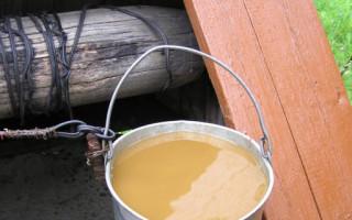 Jak vyčistit studnu v zemi od bahna, hlíny, špíny, oleje vlastníma rukama | Green-Pages.info