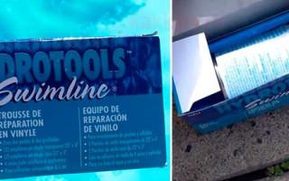 Jak najít díru v nafukovacím bazénu a jak ji utěsnit | Green-Pages.info
