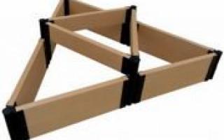 Zahradní postele z WPC: cenově dostupná náhrada za ploty ze dřeva a břidlice
