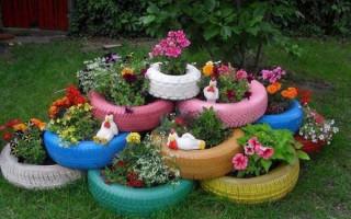 Neobvyklé květinové záhony vlastními rukama: 100 nápadů ze šrotu   Green-Pages.info