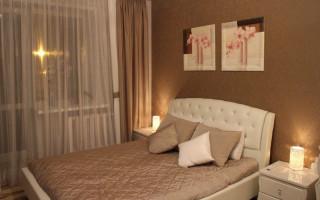 Vnitřní dekorace malé ložnice (skutečné fotografie) | Green-Pages.info