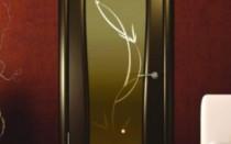 Dveře Wenge v interiéru: jak si vybrat model