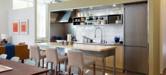 Interiér moderní kuchyně; 80 fotografií z nejlepších novinek designu kuchyně | Green-Pages.info