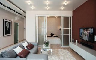 Návrh malého obývacího pokoje (60 fotografií) | Green-Pages.info