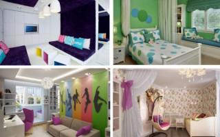 Nábytek pro dětský pokoj pro dospívající dívky: nejlepší možnosti pro uspořádání prostoru | Green-Pages.info