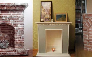 DIY kartonový krb z krabic | Green-Pages.info