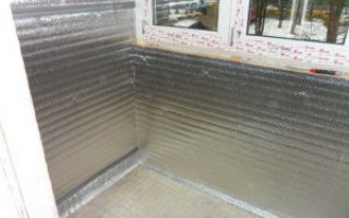 Tepelná izolace balkonu: je nutná parozábrana, jak ji nainstalovat | Green-Pages.info