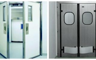 Houpací dveře: klady a zápory, kritéria výběru, tipy k instalaci | Green-Pages.info