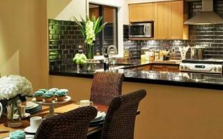 Materiály pro úpravu stěn v kuchyni; vyberte nejlepší možnost | Green-Pages.info