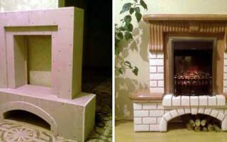 Jak vyrobit dekorativní falešný krb | Green-Pages.info