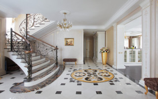 Jak vytvořit interiér pro chodbu vyzdobenou v klasickém stylu | Green-Pages.info