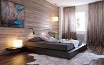 Záclony do ložnice; 150 fotografií nejlepšího designu | Green-Pages.info
