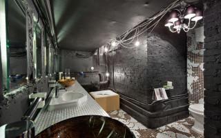 Design koupelny v podkroví: jak vytvořit brutální interiér v průmyslovém stylu | Green-Pages.info