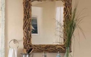 Jak vytvořit rám pro zrcadlo vlastními rukama | Green-Pages.info