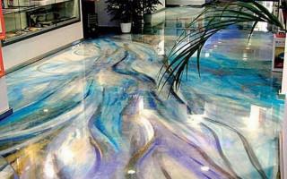Dekorativní podlahy — zajímavé řešení pro vytvoření stylového interiéru
